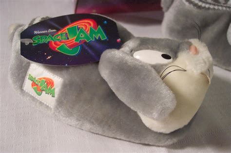 bugs bunny slippers wb looney tunes space jam basketball bugs bunny