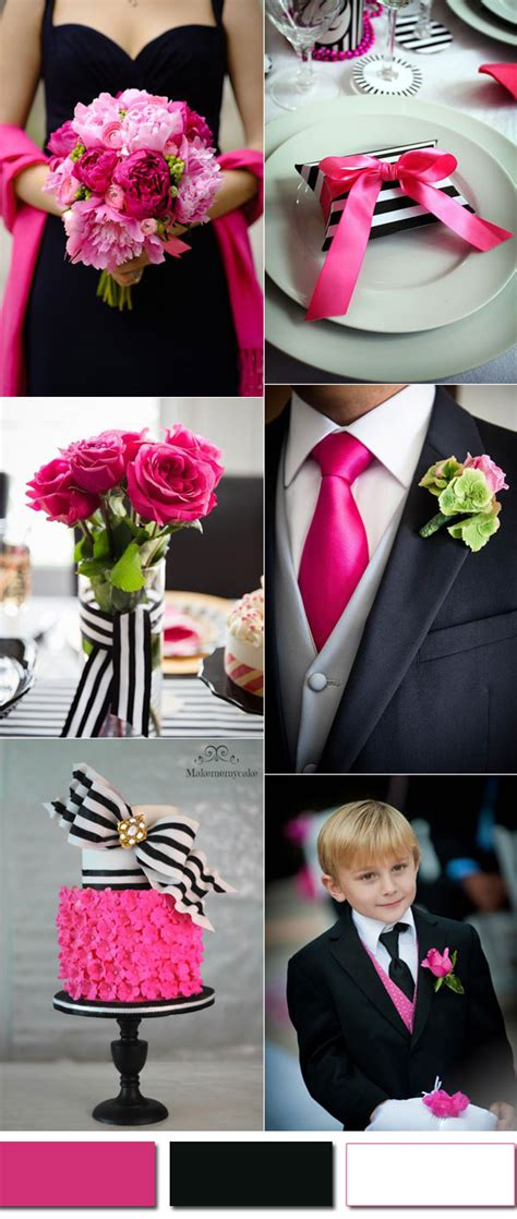 Pink And Black Wedding Ideas by Wedding Colors Trends For 2017 Pink Yarrow Color