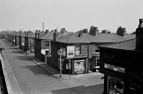 st corner shocking photos of salford slums 1969 72 flashbak