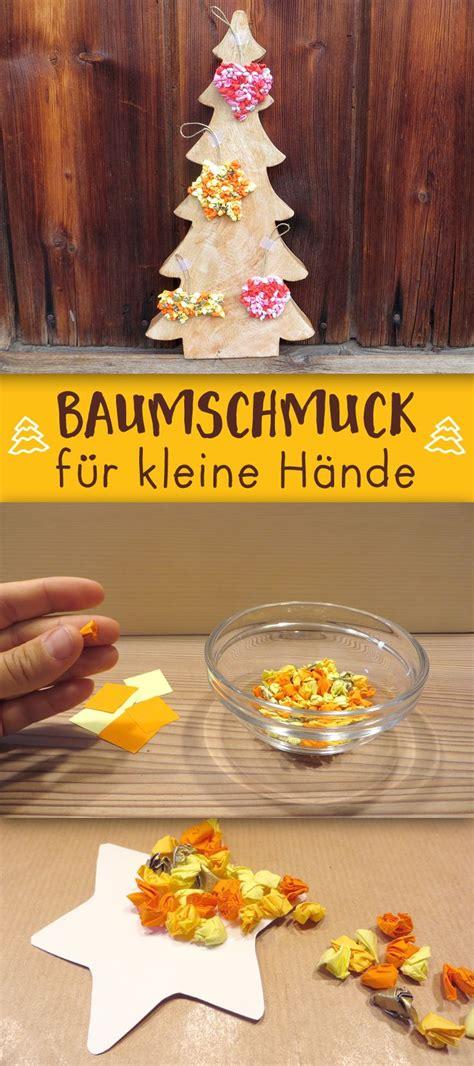 Bastelideen Weihnachten Kindergarten by Die Besten 25 Weihnachtsbaumschmuck Basteln Ideen Auf