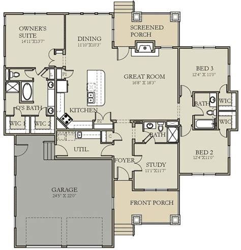 northwest floor plans plan w25402tf craftsman prairie style northwest house