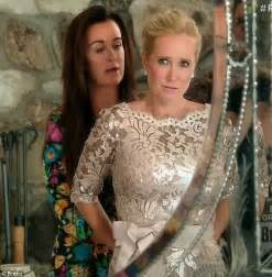 kim richards high at daughters wedding cursed out groom real housewives yolanda foster learns of daughter s