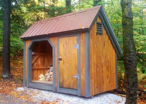 firewood storage shed kit wood sheds  firewood