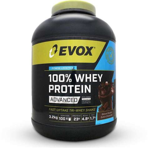 Six Pack 100 Whey Protein evox 100 whey protein advanced
