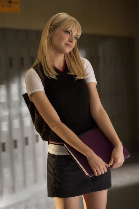 Emma Stone Gwen Stacy | undercover dress up lover gwen stacy