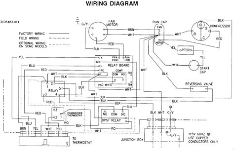 coleman rv air conditioner wiring diagram dejual