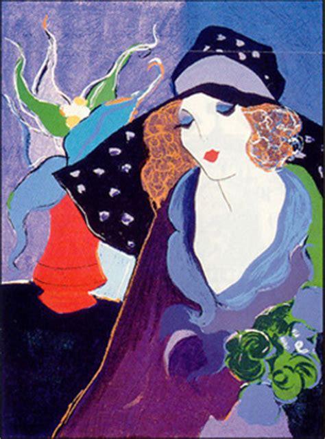 artist tarkay biography tryart com artists gt itzchak tarkay gt babette art
