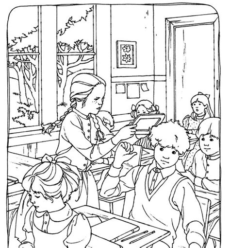 A Crowe S Gathering Free Kids Coloring Page Anna Of Green Of Green Gables Coloring Pages