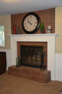 fireplace mantel diy projects