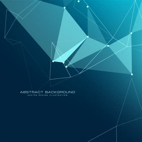 low poly background low poly technology background vector free