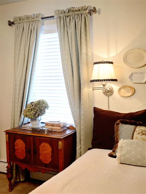easy sew lined window treatments bedroom decorating