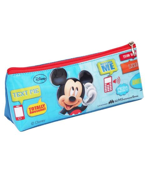 Pencil Pouch 7 disney pvc pencil pouch buy at best price in india snapdeal
