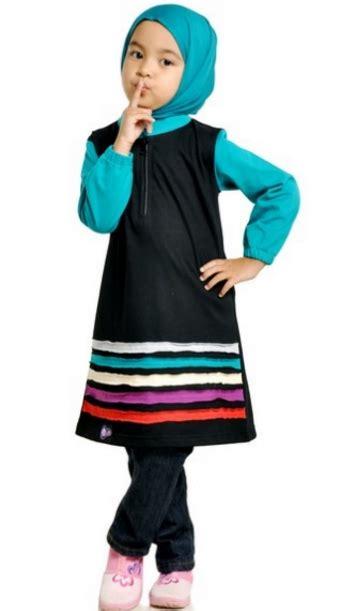 Trend Baju Muslim Anak 9 trend model baju muslim anak perempuan syari