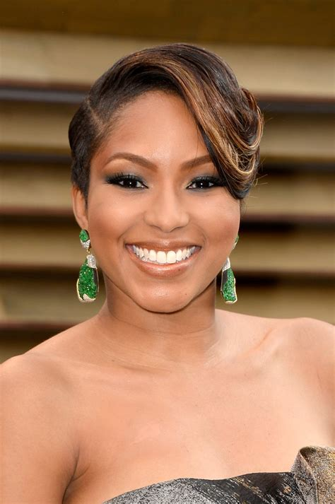 alicia quarles latest hair style alicia quarles short side part short hairstyles lookbook