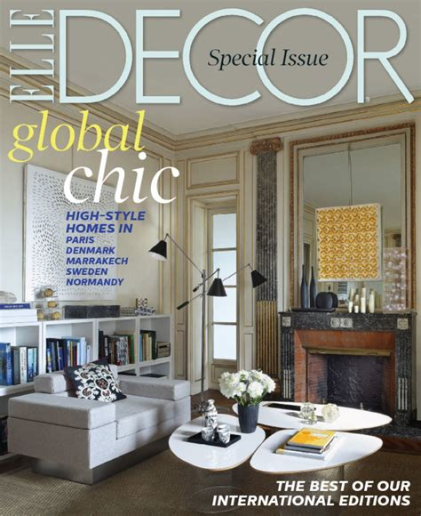 decoration magazine elle decor magazine subscription for 4 50 saving with