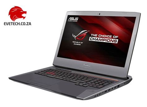 Asus Rog Laptop 32gb Ram buy asus rog g752vt i7 laptop with 32gb ram 512gb ssd at evetech co za