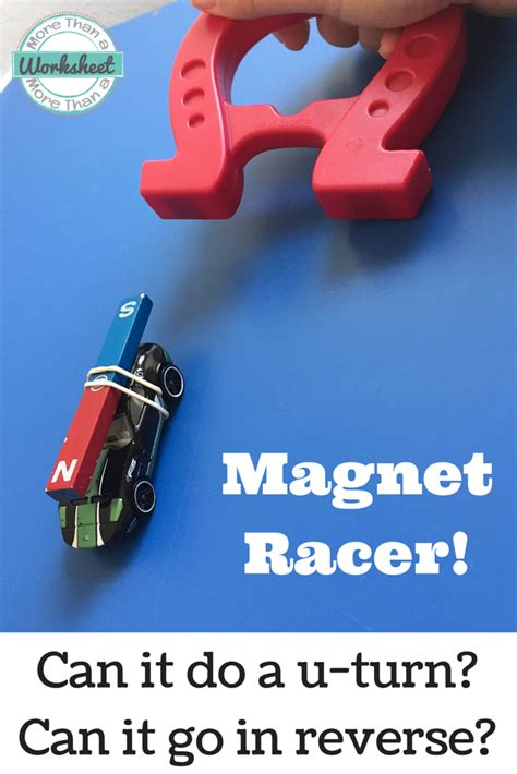 magnet racer on magnets science teaching ideas