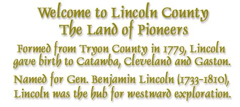 lincoln county library nc lincoln county nc usgenweb page
