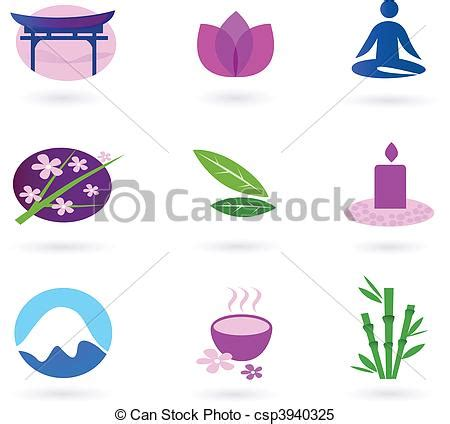 Where Can I Use My Spa And Wellness Gift Card - clipart vector of wellness asia relaxation and spa vector set of 9 graphic