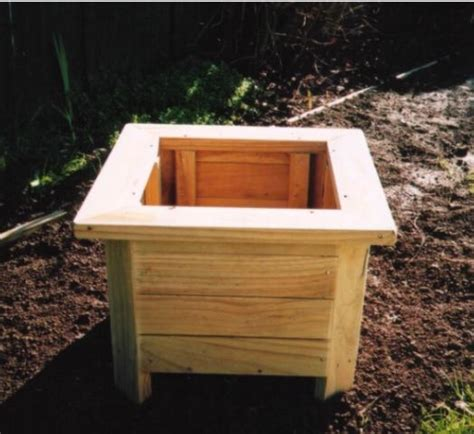 wooden vegetable planter box plans best wood idea