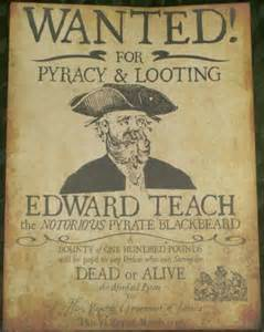 replica cutthroat island wanted poster pub members