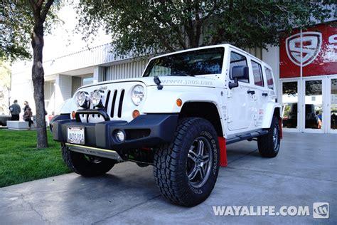 jeep jk white 2013 sema white jao jeep jk wrangler