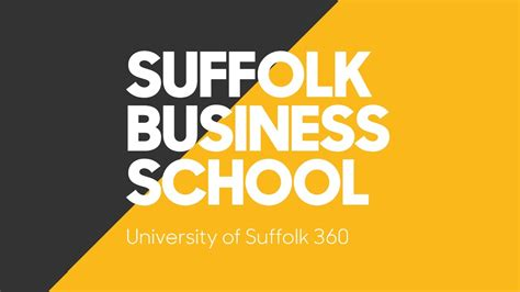 Suffolk Mba International Business by Suffolk Business School 360