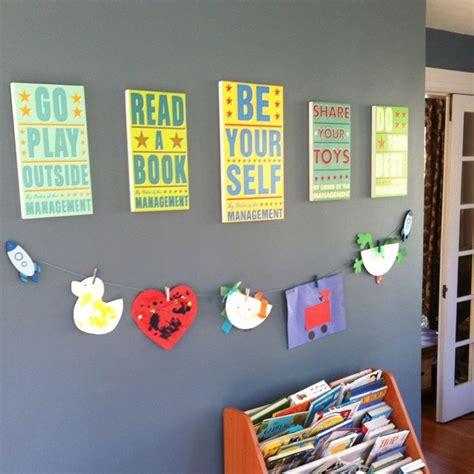 playroom ideas our playroom wall decor decorations pinterest