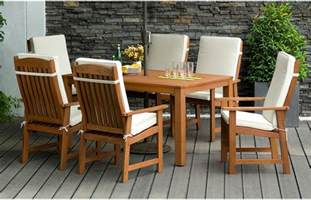 Funky Sideboards 6 Seater Garden Dining Set Outdoor Furniture Out Amp Out