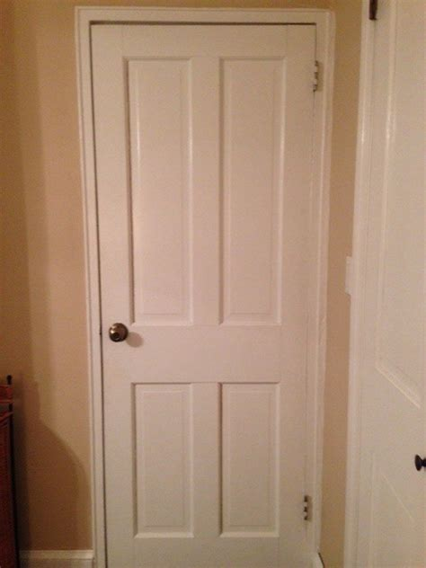 How Do You Hang Up A Door Mirror hang a length mirror on recessed panel door