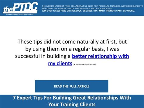 7 Tips On A Relationship With Your by Building Strong Client Relationships For An Enhanced