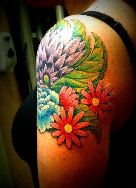 Flower Power Tattoos 484 best flower power tatoos images on floral
