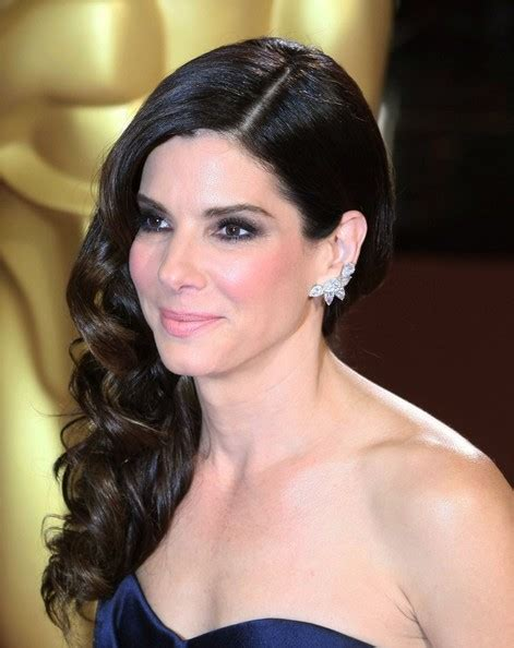 academy award hair styles sandra bullock photos photos hairstyles at the 86th