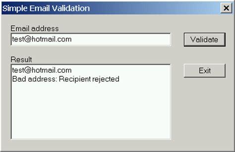 Email Domain Validation Javascript