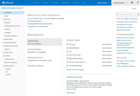 Office 365 Portal Description Office 365 With Dirsync