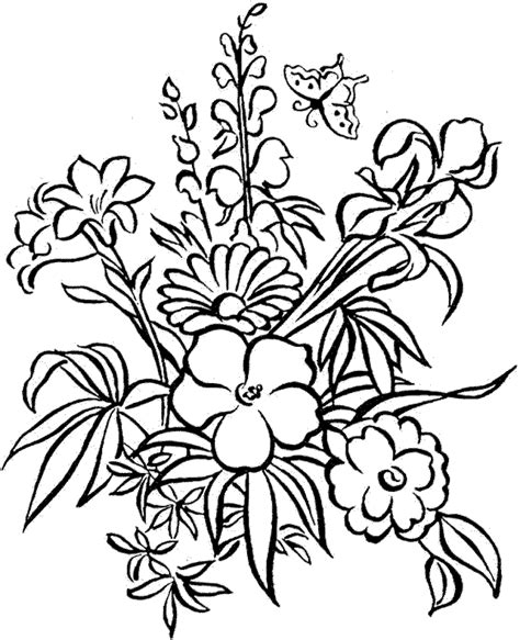 colouring pages detailed flower colouring pages coloring pages detailed coloring pages for adults