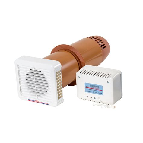 humidity controlled exhaust fan eclipse heat recovery ventilation fan for condensation and