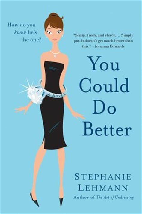 Book Review You Could Do Better By Lehmann you could do better by lehmann reviews