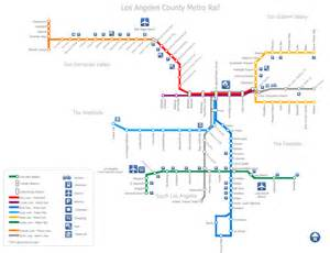 La Metro Map by Map Of Los Angeles Metro Rail Stations Pictures To Pin On