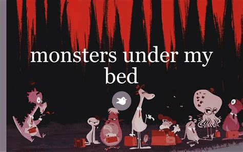 under my bed monsters under my bed by black moon storybird