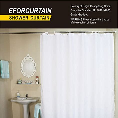 heavy fabric shower curtain eforcurtain bath stall size 36 by 72 inch heavy duty