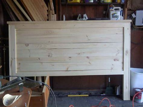 Make King Size Headboard by How To Repairs How To Make A King Size Headboard