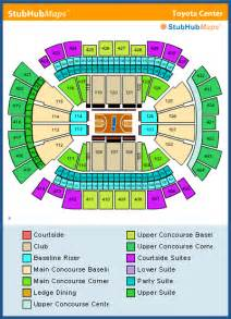 3d Seats Toyota Center Houston Rockets Seating Chart By Rows Pictures To Pin On