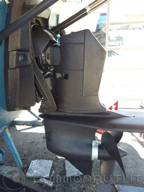 settaggio elica piede volvo penta  mono elica motore vm  hp