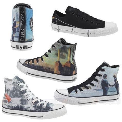 Harga Converse X Pink Floyd pin and pink universe background rosado y morado space