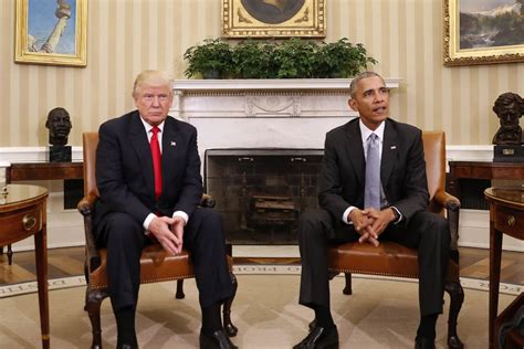 trump white house residence obama hosts trump at white house for first meeting after