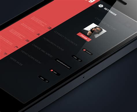iphone music layout mobile application ui design 12 excellent user experience
