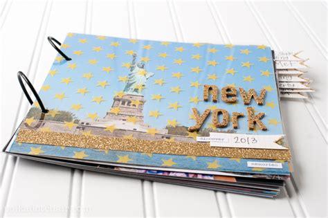 I You Photo Album Big Album Foto Motif diy photo album a tutorial for an easy travel scrapbook