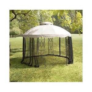 Patio Umbrella Replacement Canopy Home Depot by Replacement Canopy And Netting Set For Home Depot S 12 Ft