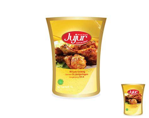 Minyak Goreng Jujur galeri desain kemasan untuk minyak goreng